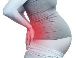 Dolor de espalda en embarazada